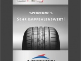 Wyjątkowe wyniki testów opon Vredestein Sportrac 5 i Ultrac Vorti
